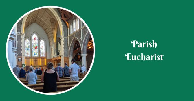 Parish Eucharist - October 3, 2021 image
