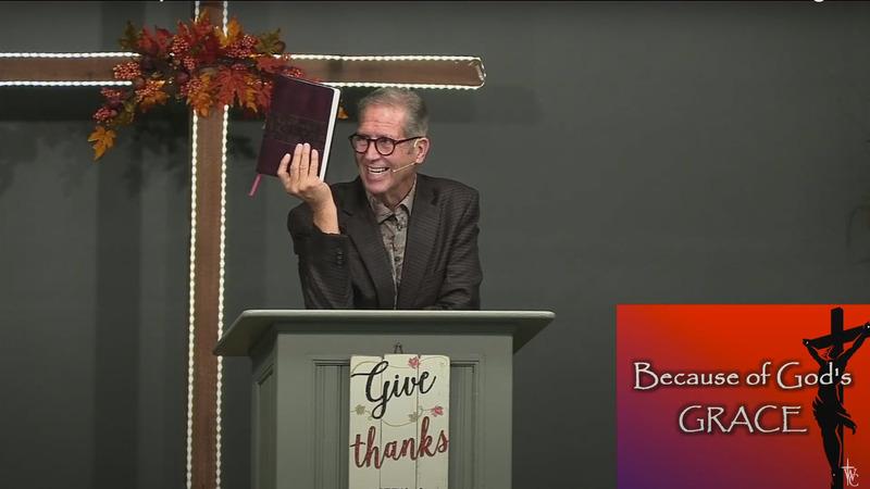 #54 Pastor Wes Oakley: Because of God's GRACE