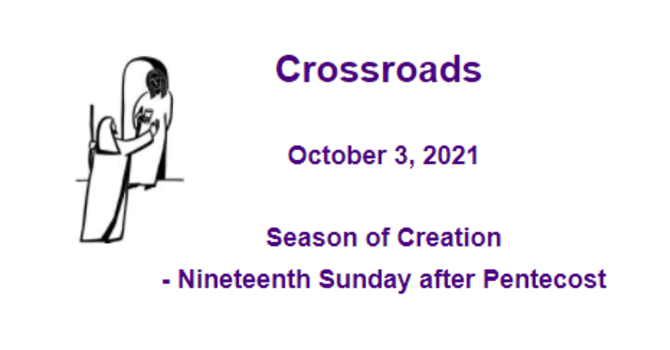 Crossroads October 3, 2021 image