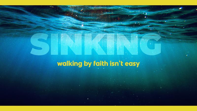 Sinking Alone