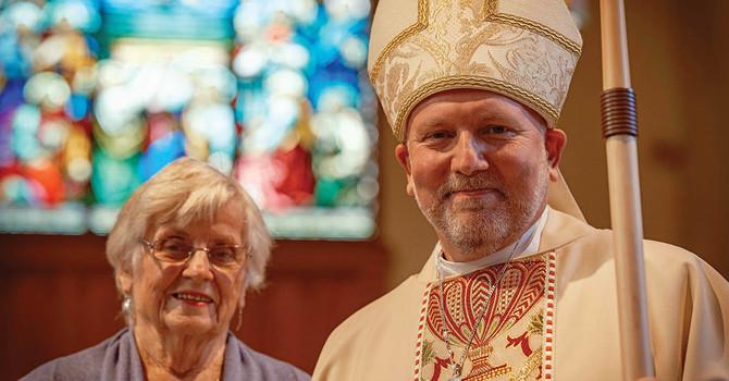 Bishop John Stephens Returns to St. Philip, Dunbar image