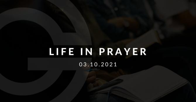 Life In Prayer
