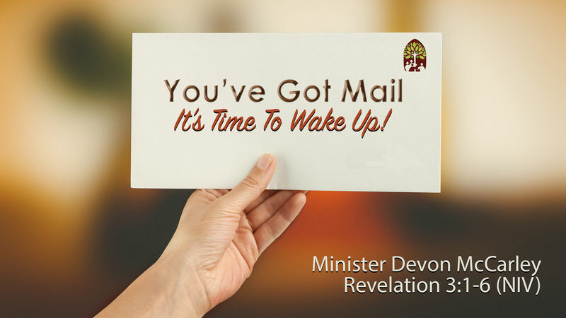 You've Got Mail: It's Time To Wake Up!