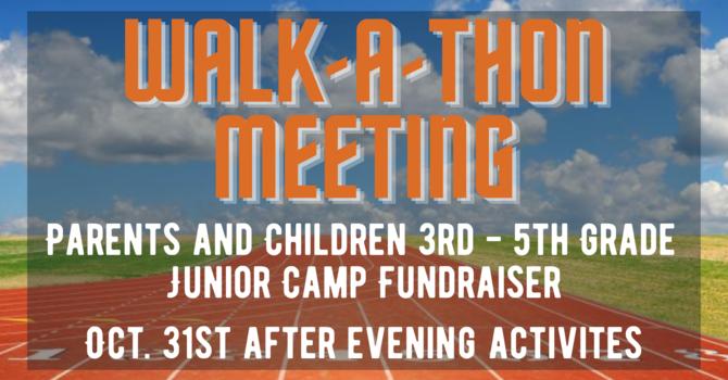 Walk-A-Thon Fundraiser Meeting