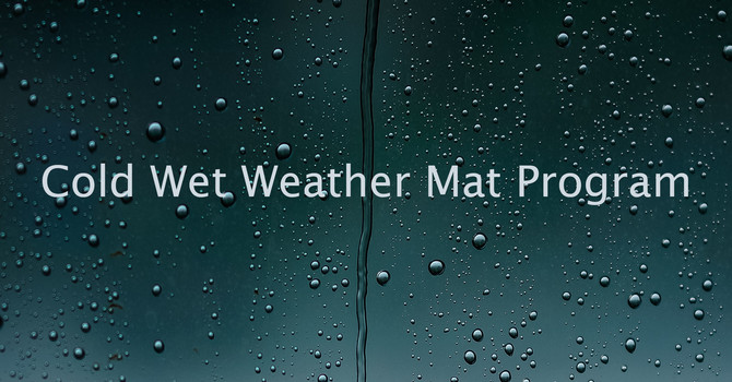 Cold Wet Weather Mat Program image
