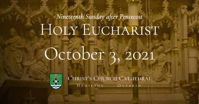 Nineteenth Sunday after Pentecost