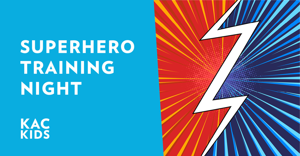 Superhero Training Night