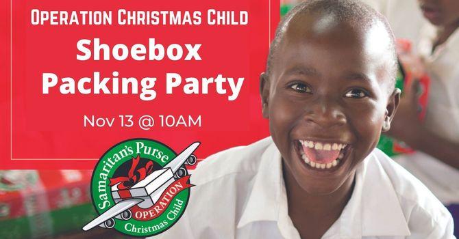 Christmas Shoebox Shopping & Packing Event