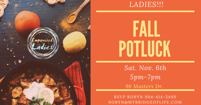 Empowered Ladies Fall Potluck