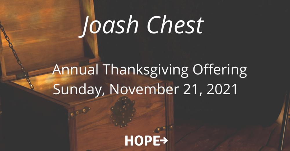 Joash Chest