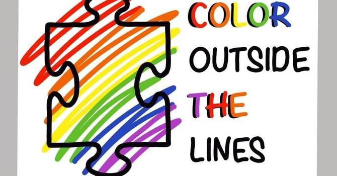 Colour Outside the lines image