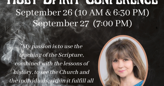 The Holy Spirit Conference; part 3