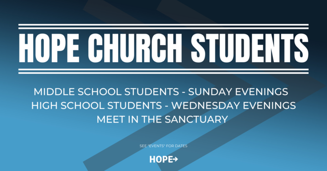 HOPE Student Ministry  image