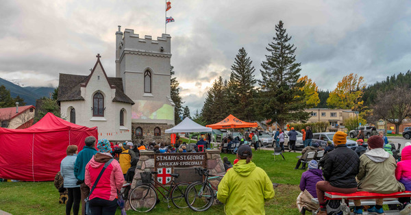 Indigenous Documentary Screened on Church Tower