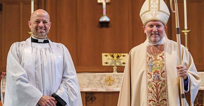 Bishop John Welcomes Rev Lorne Manweiler image