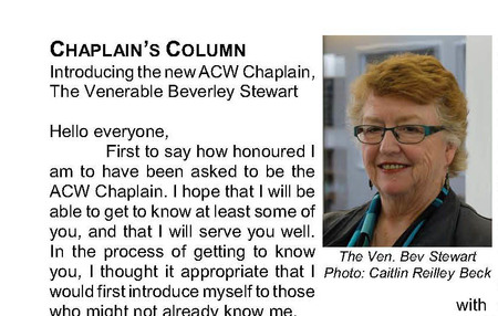 The Latest ACW Newsletter News 'n' Views