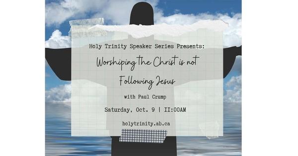 Holy Trinity Speaker Series