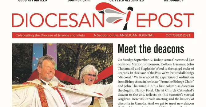 October 2021 Diocesan E-Post image