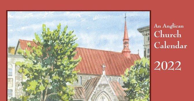 Order your 2022 Anglican Church calendar image