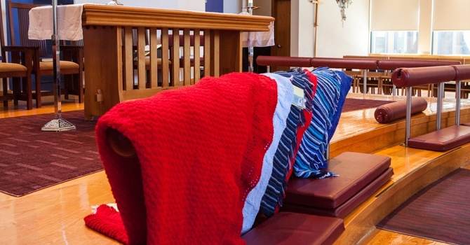 Shaping Post-Christendom Spiritual Practice in the United Church of Canada, One Prayer Shawl at a Time. image