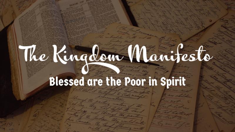 The Kingdom Manifesto Part One