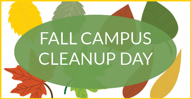 Fall Campus Cleanup Day