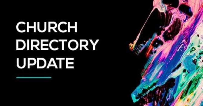 Church Directory Information