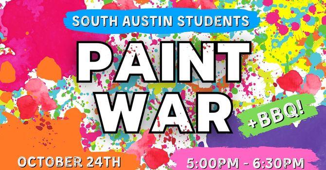 Paint War & BBQ