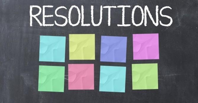 Resolutions & Information