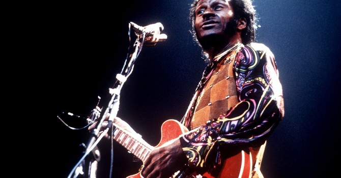 Chuck Berry and Thanksgiving image