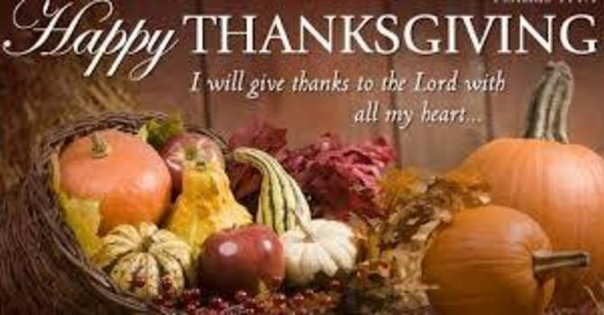 Bulletin: National Thanksgiving - 19th Sunday After Trinity image