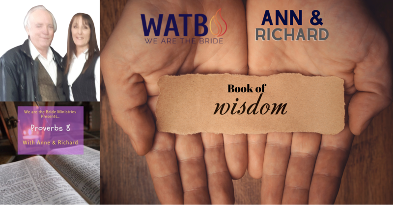 #BAM #InYoFaceDevil Bible Study w/Ann & Richard - Proverbs 8