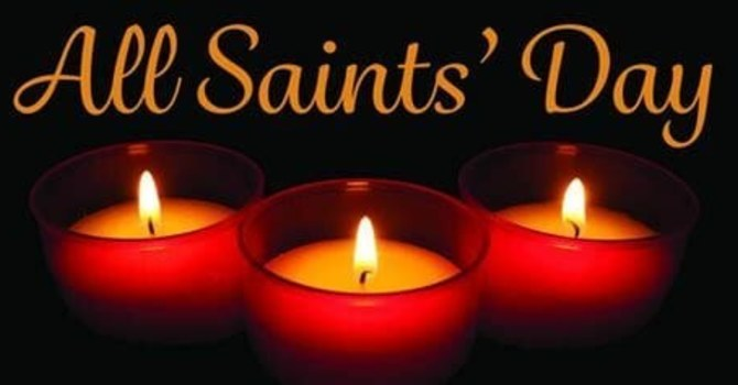 All Saints Day Sunday Oct 31 Zoom Church image