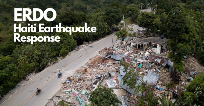 ERDO: Haiti Earthquake Response image