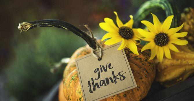 Thanksgiving Sunday