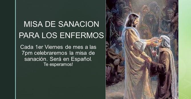 Misa de Sanacion