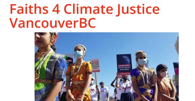 Faiths 4 Climate Justice