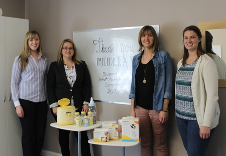 Medela Visits Ramoth To Launch Our Annual Baby Bottle Fundraising