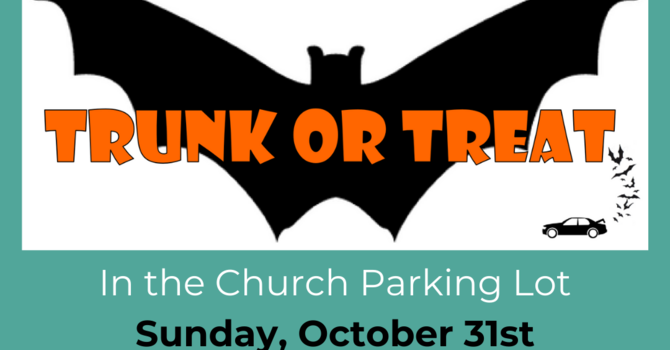 Trunk or Treat October 31st image
