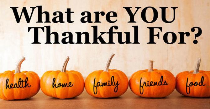 Harvest Thanksgiving image