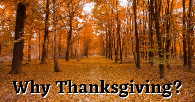 Why Thanksgiving? image