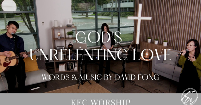 God's Unrelenting Love image