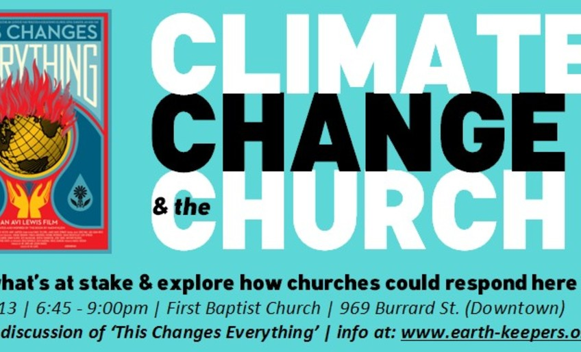 Climate Change and the Church