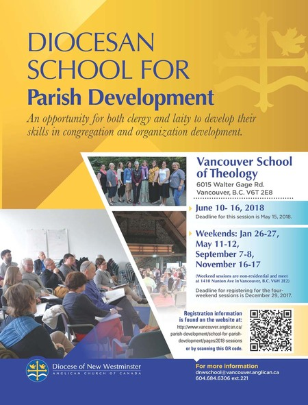 School for Parish Development Wknds Registration