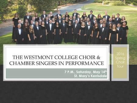 Westmount College Choir