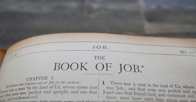 Challenging Thoughts from the Book of Job