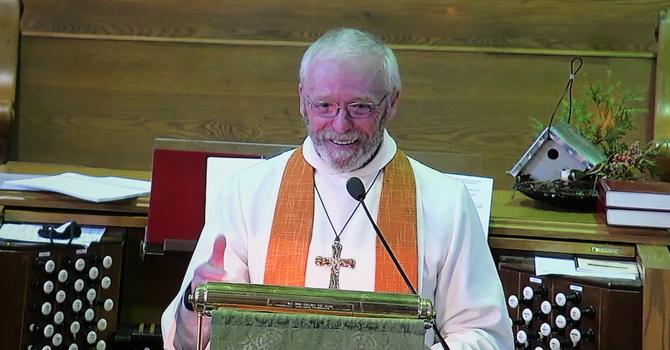 Last sermon as Trinity United's minister