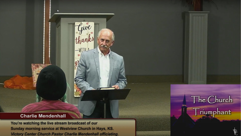 #56 Guest Speaker - Charlie Mendenhall: The Church Triumphant