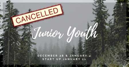 Junior Youth Cancelled