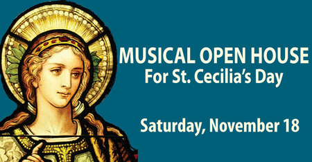 Musical Open House for St Cecilia's Day